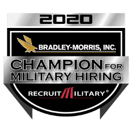 Bradley-Morris Incorporated Champion for Military Hiring